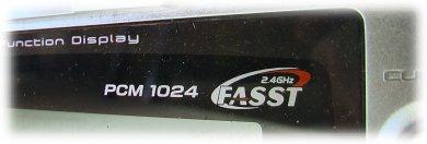 Estudio del Receptor TFR8 FASST compatible con FUTABA Tfr807