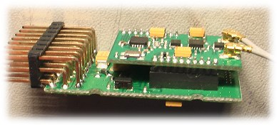 inside the FrSky 8-channel receiver